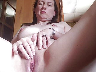 Mature Wife Masturbating
