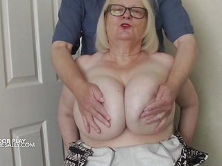 A Mystery Man Gets A Handful Of Sally039;s Tits
