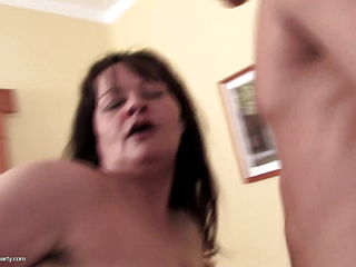 Taboo Home Sex Party With Moms And Son