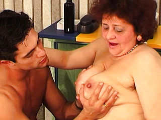 Bbw Mom Wild Fucked By Her Toyboy