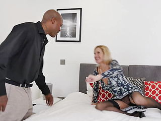 Prime Mature Mom Takes Black Cock