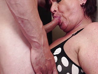 Taboo Sex With Hungry Granny And Boy
