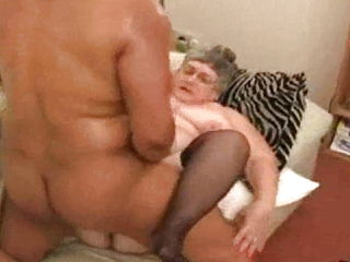 Old Fat Whore Congratulated Her Black Fan