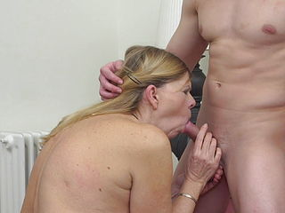 Granny Constance Having Sex With Cute Boy