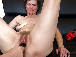 Above guy masterbates with dildo your
