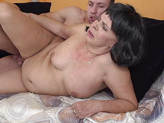 Mature Mother Gets Amazing Sex From Son