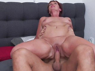 Moms With Milky Tits Fuck Young Sons