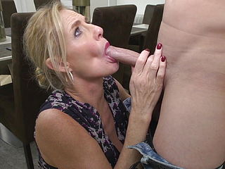 Posh Mom Molly Maracas Suck And Fuck Young Son