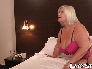 Promiscuous English GILF Dominates A Young Babe And Loves It