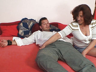 Taboo Sex With Old Hairy-pussy Mother-in-law