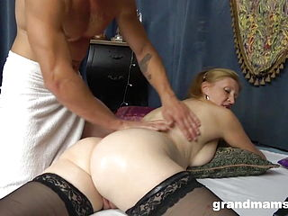 Ginger Granny Makes Monster Cock Rock-Hard