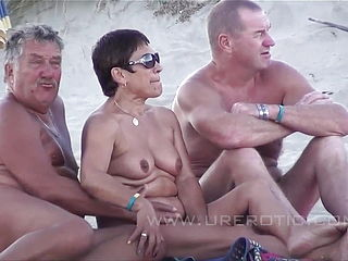 Grandpa Amp; Daddy - Nudist Beach