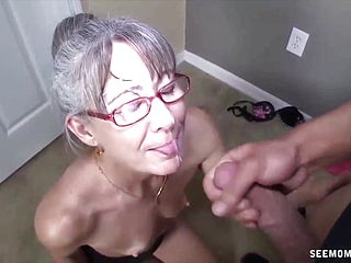Handjob Moms Compilation