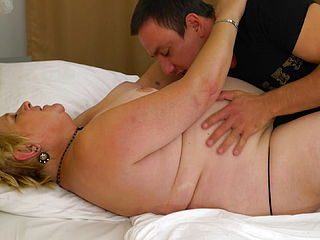 Son Licks And Fucks Chubby Mature Mom