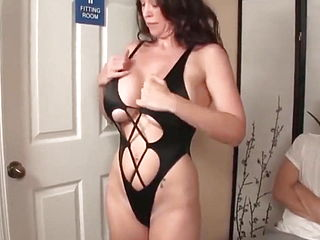 41 Years Old Milf Allowed Me To Cum On Her Huge Breast