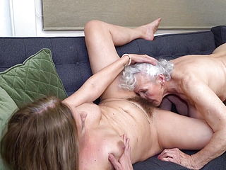 Family Threesome. Norma And Her Daughter With Her Husband
