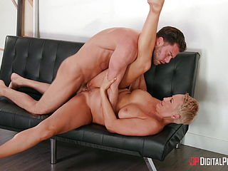 Short Hair Blonde Get Fucked By Her Son