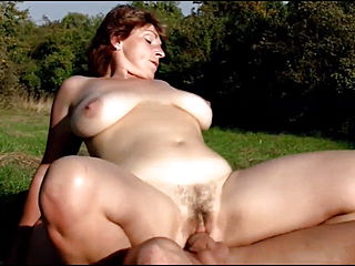 Big Busty Mature Redhead Collection