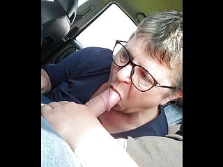 Fucking Grandma In The Car