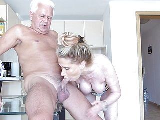 Horny Breakfast Blow Job
