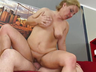 Mature Mother Squirts Like A Bitch