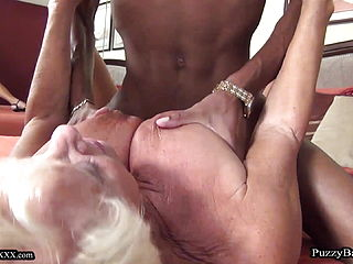 MANDY MCGRAW (BUSTY SLUTTY GRANNY) GETS FUCKED BY A BBC
