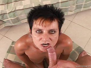 Compilation Of Mammary Facials For Wild Mature Ladies