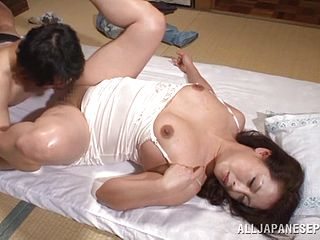 Supreme Hard-core Vignette With The Wild Mature Japanese Neko Ayami
