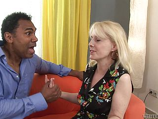 Multiracial Orgy For Mature Ash-blonde Koko Blond