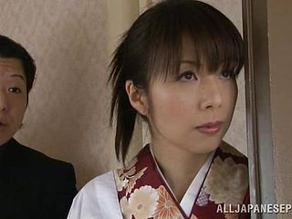 Japanese Housewife Manacled And Made To Inhale Cocks