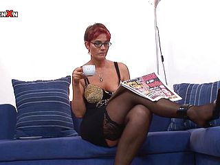 You milf french hairy dp