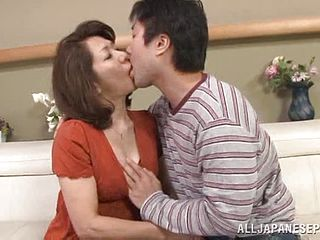 Rough Romp With A Mischievous Mature Asian