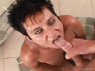 Whorey Matures Blow Manstick Until Their Facialized In Compilation Clip