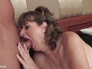 Mature Mega-slut Gives Head And Gets Nailed