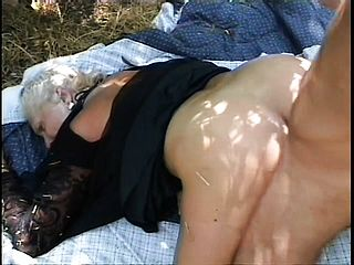 This Super Naughty Aged Widow Needs Some Lovin And Gets It From A Youthfull Dollar Outdoors