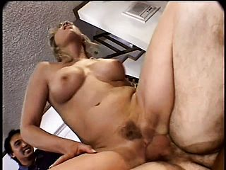 Mature Wide Gets Plowed By A Junior Stud In Front Of Her Husband