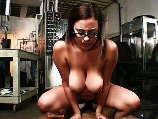 Super Fucking Hot And Super Naughty Office Female Selena Gets Her Gash Packed With Black Creamstick