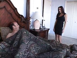 Brown Haired Cougar Enjoys To Blow On A Kinky Studs Coochie Basher