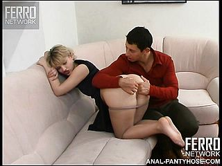 Mischievous Light Haired Cougar With A Fine Backside Amelia Has A Youthfull Boy Frigging Her Fuck Holes