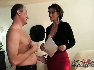 Eva Notty Showcases Off Her Massive Inborn Tits, Fine Culo And Supreme Fellatio Abilities