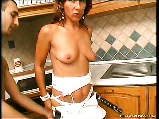 A Pair Of Cock-hungry Milfs Dual Crew A Youthfull Boys Stiff Schlong