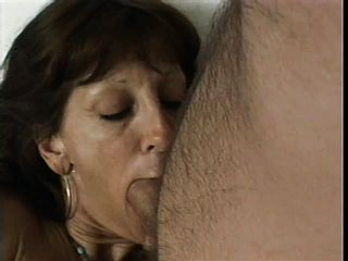 A Desperate Senior Gal Finds A Youthful Boy To Penetrate Her Fuck Holes