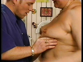 Ginormous Grandma Uses Her Knockers To Have Fun With A Youthfull Youngsters Rock Hard Cumbot