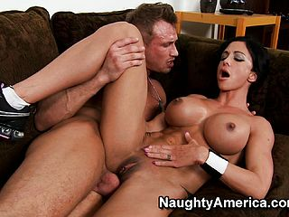 Huge Titted Dark Haired Hoe Clits Jade Gets Plunged In Her Jiggly Twat