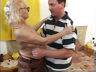 Wild Elder Doll Chats A Suspended Youthful Man Into Some Raunchy Joy