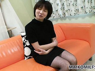 Youthfull Japanese Nymph Gets Well Prepped To Take It All Off And Get Caressed