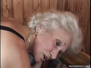Gray-haired Granny Luvs To Get Deeply Pulverized By A Youthfull Dude