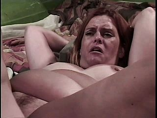 Plump Sandy Haired Gets Her Mature Gash Penetrated By A Junior Mechanic