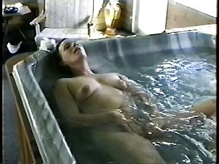 Two Sugary Mature Nymphs Make Each Other Jizm Stiff In The Super Steamy Bath