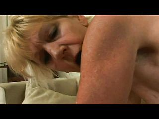 Naughty Mature Dame Takes Her Underpants To The Side And Pummels A Stiff Stiffy